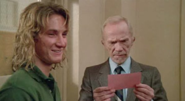 Image result for picture of spicoli at the door of Mr. Hand's class